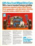 Click here to enlarge image and see more about item MH6619: GM's front runners for the 80s ad 1979
