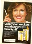 Click here to enlarge image and see more about item MH6642: Tareyton cigarettes ad 1979