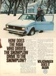 Click here to enlarge image and see more about item MH6658: Volkswagen auto ad 1979
