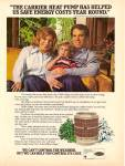 Click here to enlarge image and see more about item MH6659: Carrier air conditioniong - ROGER STAUBACH  ad 1979