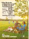 Click here to enlarge image and see more about item MH6660: Villages by The Irvine Comany ad 1979