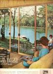 Click here to enlarge image and see more about item MH6672: Libbey=-Owens-Ford glass ad 1962