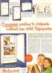 Click here to enlarge image and see more about item MH6691: Hotpoint appliances ad 1947