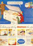 Click here to enlarge image and see more about item MH6697: DeepFreeze home freezer ad 1947
