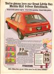 Click here to enlarge image and see more about item MH6726: Mazda auto ad 1978