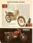 Click here to enlarge image and see more about item MH6770: Yamnaha motorcycle ad 1971
