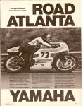 1971 CARRUTHERS Yamaha motorcycle ad 1971