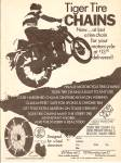 Tiger tire chains ad 1971