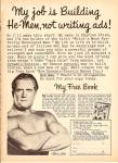 Click here to enlarge image and see more about item MH6838: 1969 Charles ATLAS Body Building AD