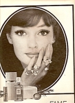 Click here to enlarge image and see more about item MH6873: Fame de Corday perfume ad 1964