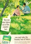 Salem cigarettes ad 1968