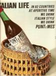 Click here to enlarge image and see more about item MH6977: Italian life - Punt e mes ad 1967