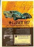 Click here to enlarge image and see more about item MH6989: 1979 BUILT SPORTS CAR Laser 917 - car kits ad
