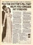 Click here to enlarge image and see more about item MH7016: Total contentment pill ad 1977