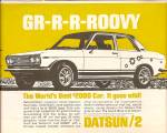 Click here to enlarge image and see more about item MH7021: Datsun auto ad 1969