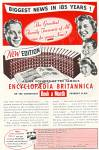 Click here to enlarge image and see more about item MH711: Encyclopaedia Britannica add 1953
