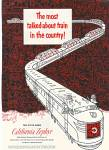 Click here to enlarge image and see more about item MH716: California Zephyr ad 1953