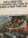 Click here to enlarge image and see more about item MH734: 1978 Greyhound Bus AD - We will Send You to School