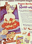 Click here to enlarge image and see more about item MH90-1: Reddi wip cream ad 1954