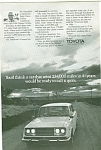 Toyota  1966 ad