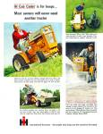 International Harvester tractor, lawn  ad1965