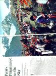 Click here to enlarge image and see more about item PJ253: PERU's Pilgrimage to the sky story 1982