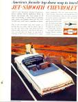 Click here to enlarge image and see more about item PJ268: Chevrolet Impala convertible ad 1962