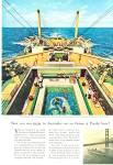 Click here to enlarge image and see more about item PJ342: Orient & Pacific liner ad 1959