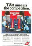 Click here to enlarge image and see more about item PJ730: TWA airlines ad 1981