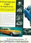 1960 CHRYSLER Dodge DART Valiant + CAR AD 2pg