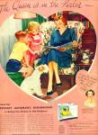 Click here to enlarge image and see more about item R1110: 1953 PINKS Crosley Automatic Dishwasher Ad