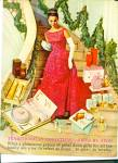 1961 AVON GIFTS Elegant Woman Galaxy AD