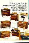 Click here to enlarge image and see more about item R1220: 1969 Wurlitzer Piano and Organ AD EIGHT Model