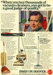 Click here to enlarge image and see more about item R1234: 1969 HOOVER Vacuum Cleaner AD - Playskool Toy