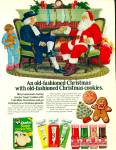 Click here to enlarge image and see more about item R1237: Quaker sugar  cookie mix ad - November 1969