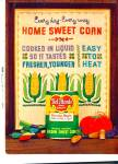 Click here to enlarge image and see more about item R1261: Del Monte Family style sweet corn ad -