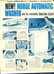 Click here to enlarge image and see more about item R1267a: 1977 Norge Automatic  Washer Washing AD