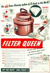 Click here to enlarge image and see more about item R1273: 1951 Filter Queen HOME VACUUM Cleaning AD