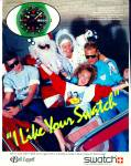 Swatch Belk Leggett ad - November 1986