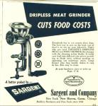 Click here to enlarge image and see more about item R1283: Sargent and Company ad