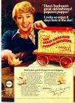Click here to enlarge image and see more about item R1307: 1977 Sunbeam Appliances SHIRLEY JONES AD