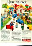 Click here to enlarge image and see more about item R1311: Puzzletown by Playskool Ad -  Nov. 15, 1977