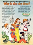 1977 HEALTH TEX Children's Vintage Clothes AD
