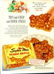 Click here to enlarge image and see more about item R1365: 1954 SOPHIE MAE Peanut BRITTLE OLD SOUTH AD