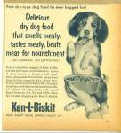 1955 KEN-L-BISKIT Ken-L-Ration DOG AD CUTE BE
