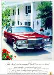 Click here to enlarge image and see more about item R1442: OLD CADILLAC RED CAR AD