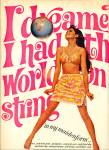 1967 MAIDENFORM AD COLLEEN CORBY World String