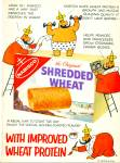 1959 NABISCO Shredded Wheat Cereal AD O. SOGL