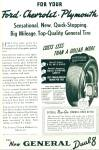 Click here to enlarge image and see more about item R1662: The New General Dual 8 tire - 1938
