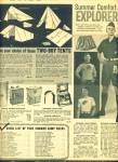Click here to enlarge image and see more about item R1688: 1960 BOY SCOUT Uniforms AD TENTS CAMPING +BSA